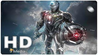 AVENGERS 4   New Iron Man Suit (2019) Tony Stark, Marvel Superhero Movie HD