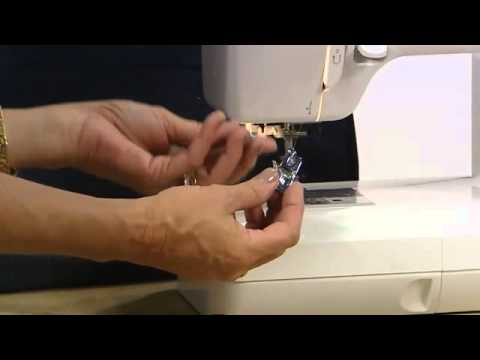 Elna 3210 Jeans Sewing Machine Demonstration