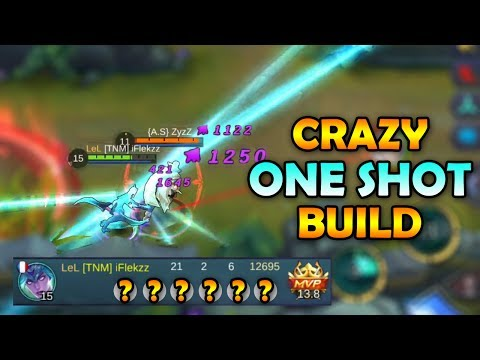 KARINA INSANE ONE SHOT BUILD! - MOBILE LEGENDS GAMEPLAY