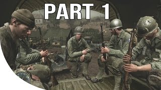Call of Duty 3 Gameplay Walkthrough Part 1 - No Commentary Let's Play - Saint Lo