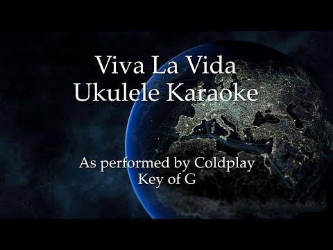 Viva La Vida Ukulele Karaoke