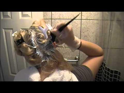 Como decolorar el cabello o extraccion de color p.1 (Decoloracion)