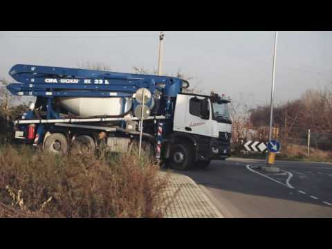 Video Domíchávač betonu MK32L