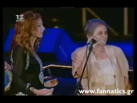 Anna Vissi & Kyriakou Pelagia (Kypriaka Tragoudia)  Cyprus 2004 Live (part10) Music Videos