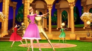 Barbie in The 12 Dancing Princesses - Third dance wih a partner in the enchanted pavillon