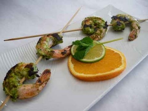 Pudina Shrimp (Prawn) Recipe