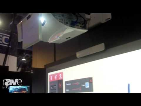 InfoComm 2014: Optoma Showcases its Interactive Ultra Short-Throw Projector