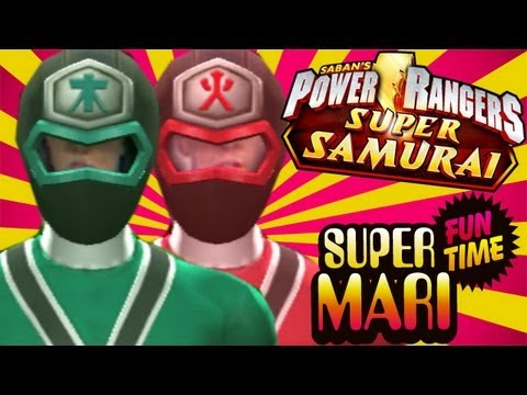MIGHTY MORPHIN MARI (Super Mari Fun Time)