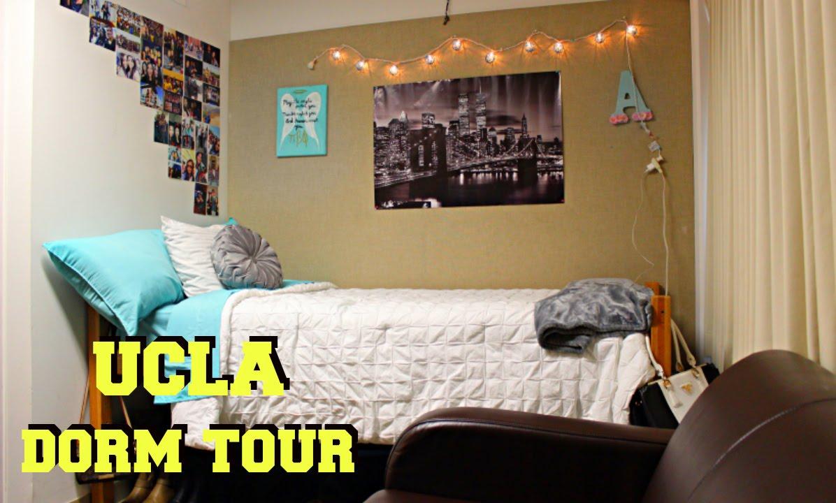 Ucla Dorms UCLA Dorm Tour
