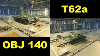 T62A vs Obj140 - Sibling rivalry - Which is better? wot blitz