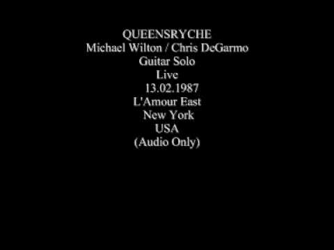 Queensryche Guitar Solo. Michael Wilton Chris DeGarmo. L'amour East New York 13.2.1987. Audio Only.