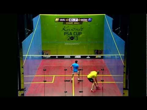 Squash : Kuwait PSA Cup 2013 Round 3 Roundup Evening Session