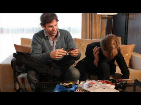 What's in Bradley Cooper & Abbie Cornish's Bags?