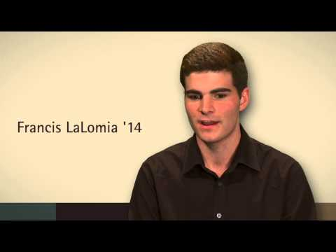Francis LaLomia '14 tells his story ? Corning Community College