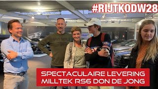 #RIJTKODW afl. 28: Spectaculaire levering RS6 Don de Jong, SL AMG Black series ,Milltek