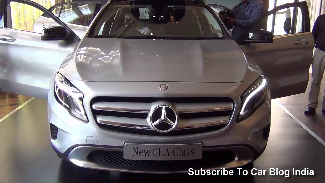 Mercedes Gla Interiors >> Mercedes Benz GLA Class India Price, Features, Exteriors And Interiors Review - YouTube