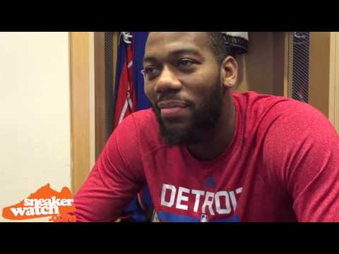 Pistons' Greg Monroe Debates Between 2 J's for Signature Shoe