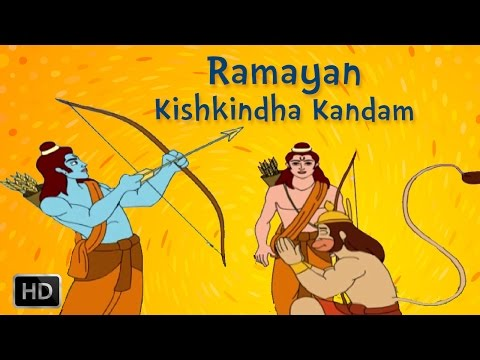 Ramayan Full Movie - Kishkindha Kandam - Ram In Search Of Sita - Animated   Cartoon Stories For Kids video