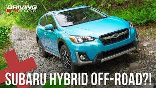 2019 Subaru Crosstrek Hybrid Electric Crossover Off-Road Challenge!