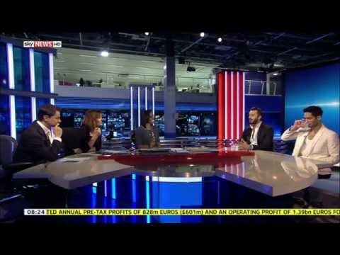 Owais Khan and Shmoyel Siddiqui From Desi Rascals Talk About The TV Show on Sky News