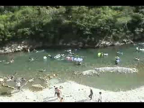 川湯温泉の夏