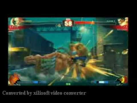 Street Fighter 4 Tournament Group  C- 2.1