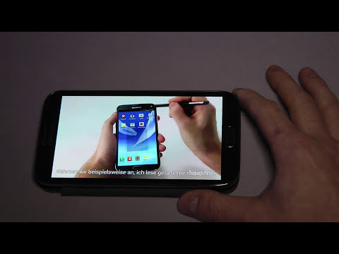 Samsung Galaxy Note 2 GT-N7100 Retail Mode Shop Demo German