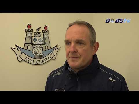 Mattie Kenny looks ahead to the 2020 Allianz League opener against Kilkenny