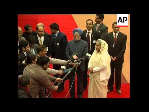Bangladeshi Prime Minister Sheikh Hasina visits