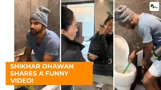VIRAL VIDEO: Shikhar Dhawan posts a hillarious video!