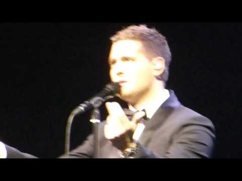 Michael Buble - Feeling Good - Manchester - 1st March 2014