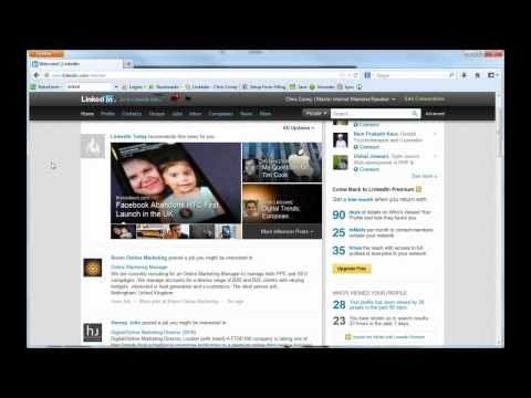How to Remove or Unfriend a LinkedIn Contact and Delete Them As A Connection 2013 - ChrisConey.com