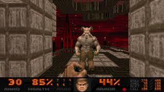"Doom II: Sunlust - Map 19 ""Blood Geometry"" UV-Max in 7:46"