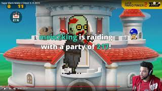 I'M 1V1'ING EVERYONE (trihex full breakdown on Mario Maker 2 Direct)