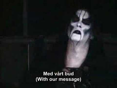Dimmu Borgir - Vredesbyrd live with subtitles