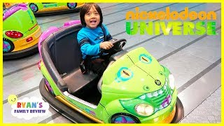 Nickelodeon Universe Theme Park Indoor Amusement Rides for Kids