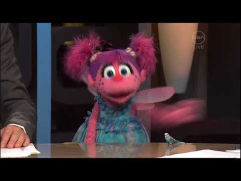Sesame Street's Elmo & Abby Cadabby on The 7pm Project (Australia) Video