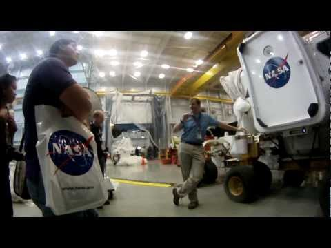 MSL Curiosity Landing NASA Social - Desert RATS Tour
