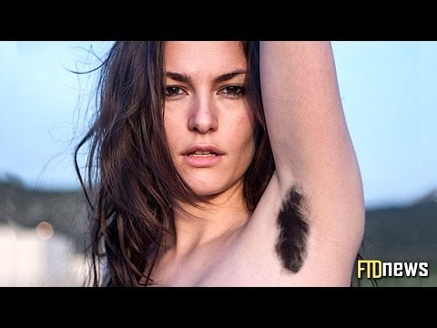 Women With Hairy Armpits Protest True Beauty video