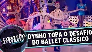 Download Sabadão com Celso Portiolli (25/06/16) - Dynho topa o desafio do Ballet Clássico 3Gp Mp4