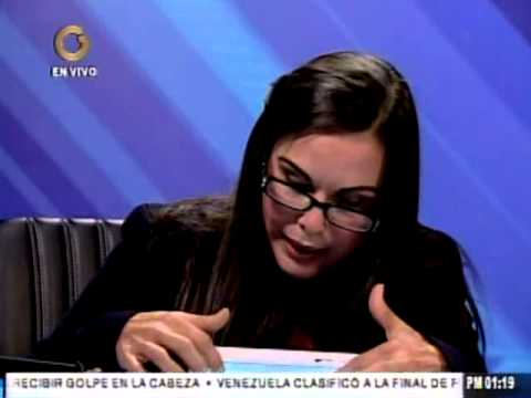 Eveling Trejo, alcaldesa de Maracaibo habla sobre el problema de la basura