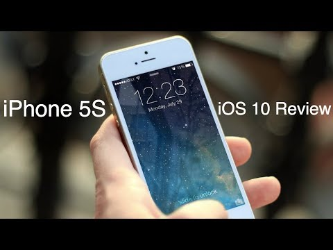 iPhone 5S iOS 10 Review