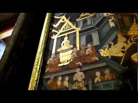 Waynes Visit to the Reclining Buddha in Bangkok, Thailand.  Wat Pho