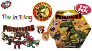 Predasaurs Dna Fusion Mutant Dinosaur Micro Figure Blind Bags Toy Review