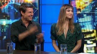 "Tom Cruise & Sofia Boutella ""The Mummy"" Australian Tv Interview HD May 23, 2017"