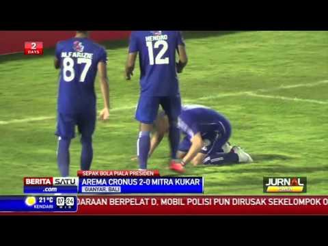 Arema Cronus Raih Tempat Ketiga Piala Presiden