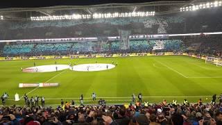 Trabzonspor - Fenerbahçe [Vira'dan Müthiş Koreografi]EMEK YÜREK ALIN TERİ. SENE HEP 2011 4K