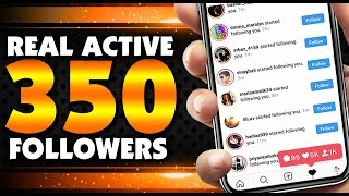 INSTAGRAM FOLLOWERS 2019 - HOW TO INCREASE FOLLOWERS ON INSTAGRAM - GET 300 INSTAGRAM FOLLOWERS 2019