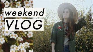 Weekend Vlog Flower Fields A Flea Market Score