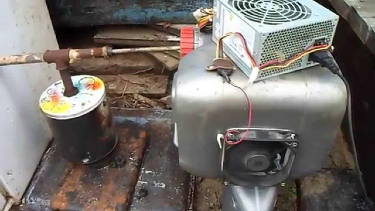 Компрессор для дымогенератора холодного копчения своими руками 331